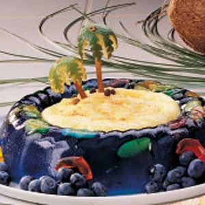 Tropical Island Dessert Recipe