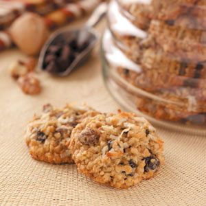 Raisin Oatmeal Cookies Recipe