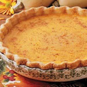 Golden Squash Pie