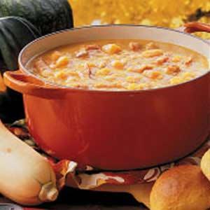 Navy bean squash soup recipe taste of home navy bean squash soup recipe forumfinder Choice Image