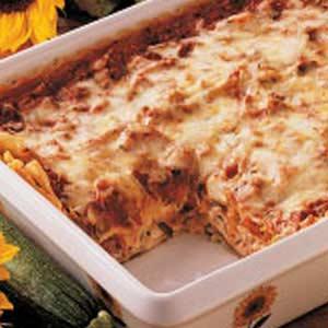 Where's the Squash Lasagna Recipe