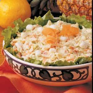 Citrus Pineapple Coleslaw Recipe