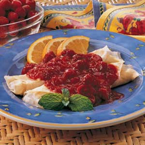 Fruit Crepes Recipe