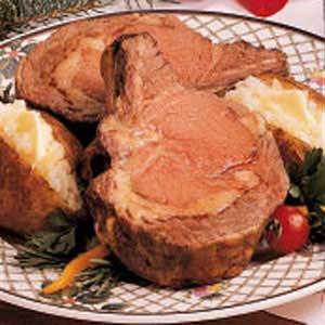 Prime Rib and Potatoes Recipe