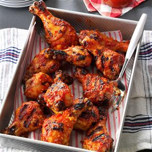 Sweet & Tangy Barbecued Chicken Recipe