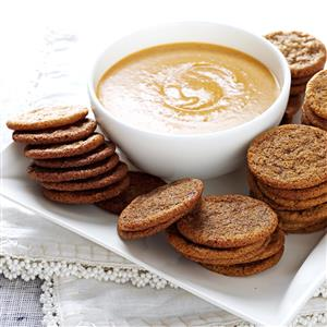 Spice Cookies with Pumpkin Dip Recipe
