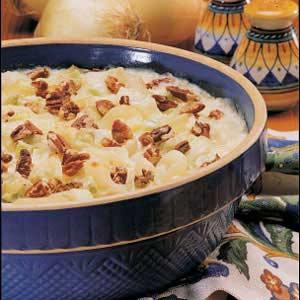 Parmesan Onion Bake Recipe