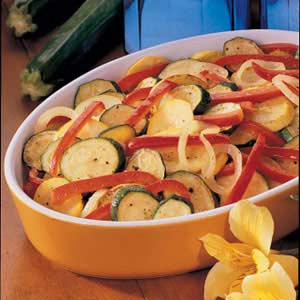 Squash and Pepper Skillet Recipe