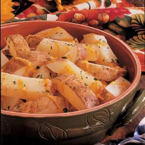 Cheddar Potato Strips Recipe