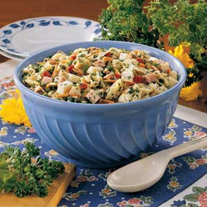 Parsley Tortellini Toss Recipe