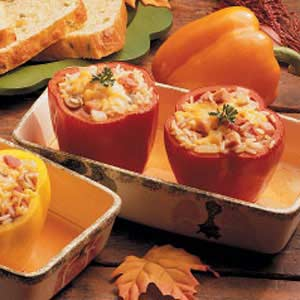 Kentucky Stuffed Peppers Recipe