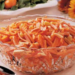 Almond-Topped Carrots Recipe