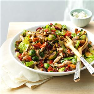 Chicken & Brussels Sprouts Salad Recipe