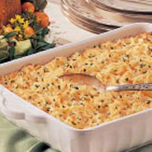 Cheesy Hash Potato Casserole Recipe