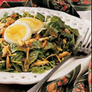 Salad with Honey-Mustard Dressing Recipe