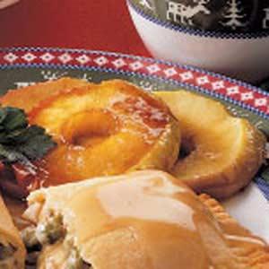 Caramelized Apple Rings Recipe