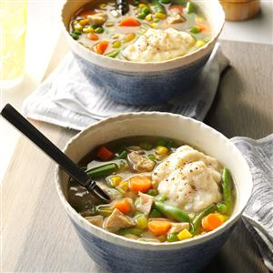 Turkey Dumpling Soup Recipe