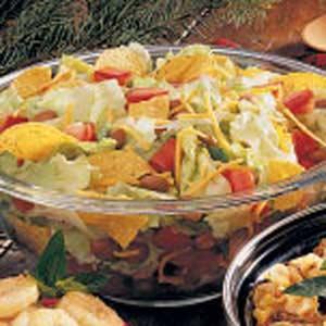 Bean Tossed Salad Recipe