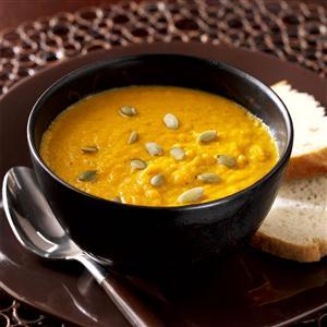 Spiced Harvest Pumpkin Soup Recipe