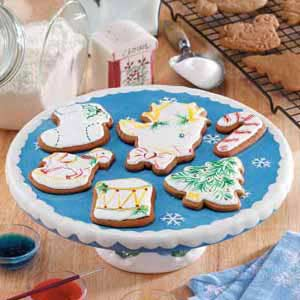 Holiday Ginger Cutouts Recipe