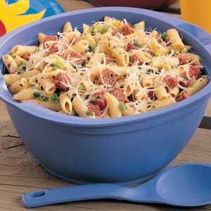Easy Salami Pasta Salad Recipe