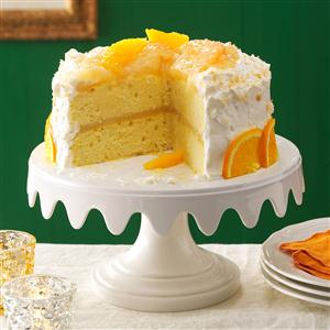 Coconut Citrus Layer Cake Recipe
