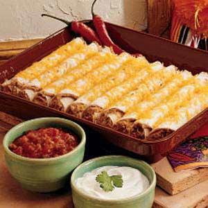 Southwest Roll-ups Recipe