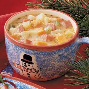 Sweet Potato Chowder Recipe