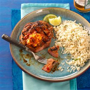 Sizzling Ancho Ribeyes for Two Recipe
