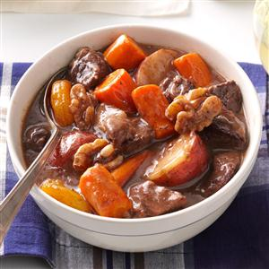 Autumn Slow-Cooked Beef Stew Recipe