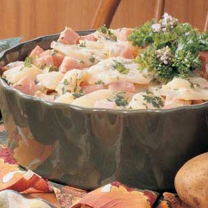 Ham and Scalloped Potatoes Recipe