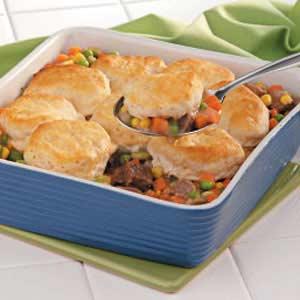 Beef Veggie Casserole