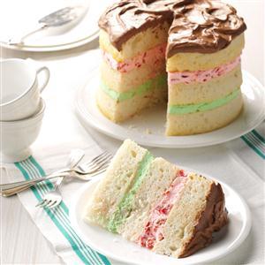 Spumoni Torte Recipe