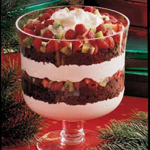 Chocolate and Fruit Trifle