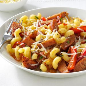 Sausage Skillet with Pasta & Herbs Recipe