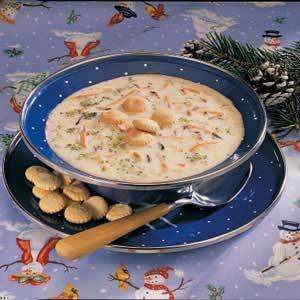 Broccoli Wild Rice Soup Recipe