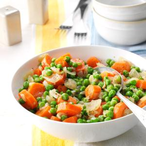 Honey-Butter Peas and Carrots Recipe