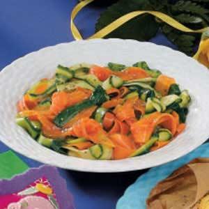 Love Knot Vegetables Recipe