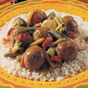 Veggie Meatball Medley Recipe