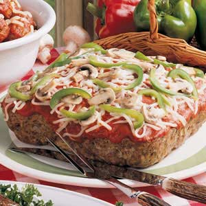 Beef Pizza Loaf Recipe