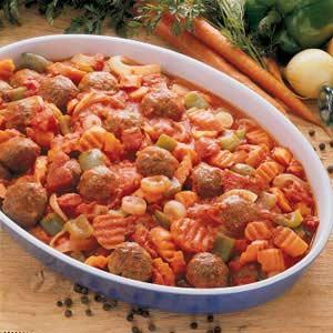 Garden's Plenty Meatballs Recipe