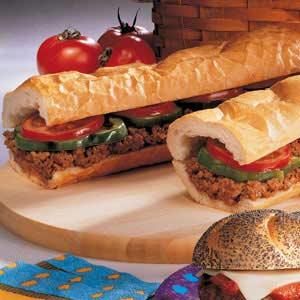 Hamburger Hoagie Recipe