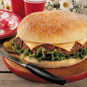 Texas Cheeseburger Recipe
