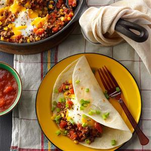 Beefy Huevos Rancheros Recipe