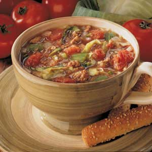 Country Cabbage Soup Recipe
