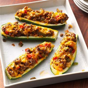 Zucchini boats recipe taste of home zucchini boats recipe forumfinder Images