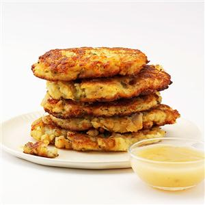 Crispy Mashed Potato & Stuffing Patties Recipe