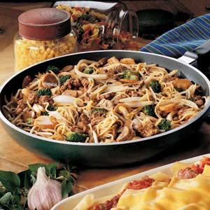 Broccoli Beef Lo Mein Recipe