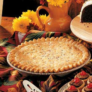 Classic Coconut-Pecan Pie Recipe