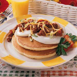 Enchilada Pancakes Recipe